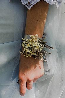 """Náramky - Kvetinový náramok """"roznežnelá"""" - 13509554_"""