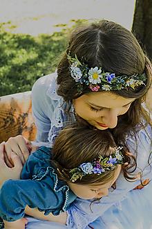 """Ozdoby do vlasov - Set venčekov mama/dcéra """"rosa na lúčnych kvetoch"""" - 13509565_"""