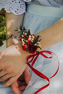 """Náramky - Kvetinový náramok """"zbláznená"""" - 13509622_"""