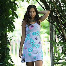 Šaty - Origo šaty vyšívanec čary mary - 13510126_