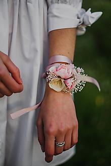 """Náramky - Kvetinový náramok """"sladkosť bozkov"""" - 13512217_"""