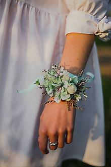 """Náramky - Kvetinový náramok """"ranné tieňohry"""" - 13512230_"""