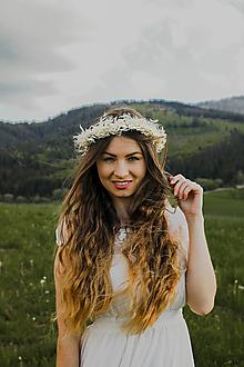 """Ozdoby do vlasov - Kvetinový venček """"ranný vánok"""" - 13512243_"""