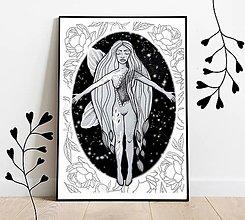 Grafika - Art print - grafika Víla som - 13511765_