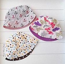 Detské čiapky - Letné klobúky - 13510466_
