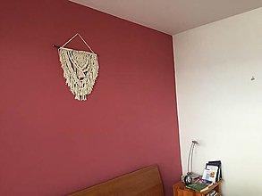 Dekorácie - Makrame moderná dekorácia - 13510882_