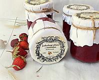 Potraviny - Jahodový džem medovkový - 13510544_