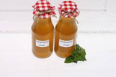 Potraviny - Domáci medovkový sirup 1 liter bez konzervantov - 13514695_