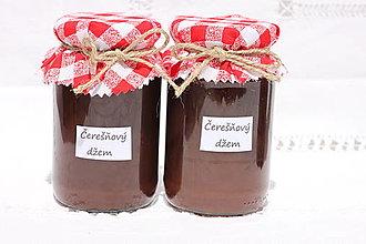 Potraviny - Domáci čerešňový džem bez konzervantov - 13514688_