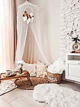 Úžitkový textil - Háčkovaný koberček - 13513566_