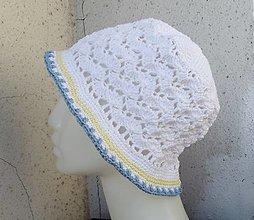 Čiapky - háčkovaný klobúčik - 13514796_
