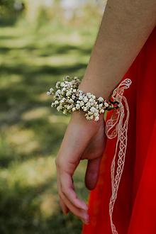"""Náramky - Kvetinový náramok """"ranná neha"""" - 13515155_"""