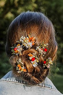 """Ozdoby do vlasov - Vlásenky """"letné stmievanie"""" - 13516787_"""