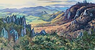 Obrazy - Súľovské skaly - 13519319_