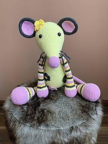 Hračky - myška Vanilka - 13518808_