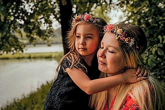 """Ozdoby do vlasov - Set venčekov mama/dcéra """"šťastný smiech"""" - 13518523_"""