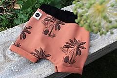 Detské oblečenie - palm trees shorts - 13517379_