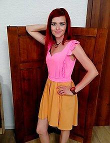 Šaty - Ruženka - 13519502_