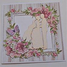 Papiernictvo - Svadobná pohľadnica - 13519352_