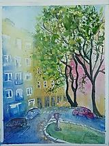 Obrazy - Ba ul.Palackého , akv., 30x40 - 13520220_