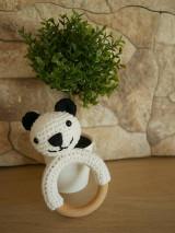 Hračky - Hryzátko panda - 13520021_