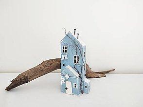 Dekorácie - Vintage domček ,,Ako vánok,, - 13522376_