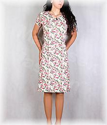 Šaty - Šaty s řasením v pase vz.679 - 13521789_