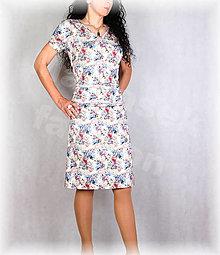 Šaty - Šaty s řasením v pase vz.681 - 13521812_