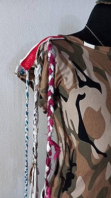 Tričká - Tričko, dievčenské,ARMY - 13521834_