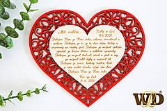 Dekorácie - Poďakovania rodičom FLOWER - 13523001_
