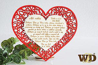 Dekorácie - Poďakovania rodičom FLOWER - 13522999_