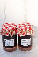 Potraviny - Domáci ríbezľovo - morušový džem bez konzervantov - 13521748_