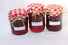 Potraviny - Zavárané moruše s lístkami medovky bez konzervantov - 13521782_