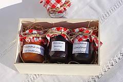 Potraviny - Darček pre gurmána podľa vlastného výberu v drevenej krabičke - 13521907_