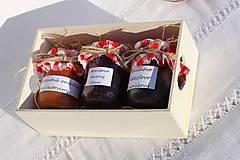 Potraviny - Darček pre gurmána podľa vlastného výberu v drevenej krabičke - 13521908_
