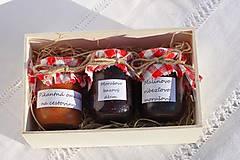 Potraviny - Darček pre gurmána podľa vlastného výberu v drevenej krabičke - 13521909_