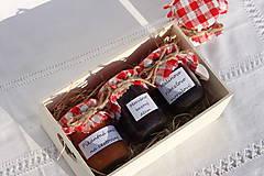 Potraviny - Darček pre gurmána podľa vlastného výberu v drevenej krabičke - 13521910_