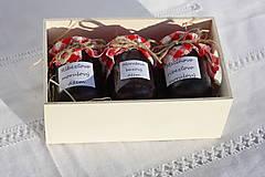 Potraviny - Darček pre gurmána podľa vlastného výberu v drevenej krabičke - 13521913_