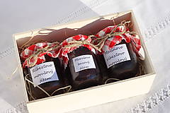 Potraviny - Darček pre gurmána podľa vlastného výberu v drevenej krabičke - 13521914_