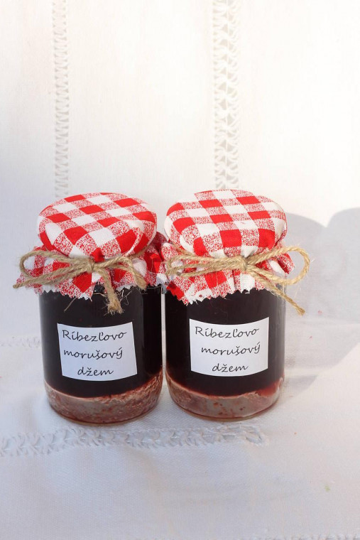 Domáci ríbezľovo - morušový džem bez konzervantov