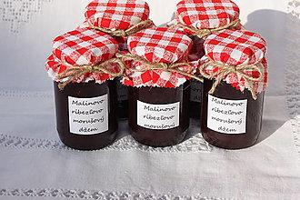 Potraviny - Domáci malinovo - ríbezľovo - morušový džem bez konzervantov - 13521757_