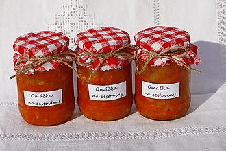 Potraviny - Zeleninová omáčka na cestoviny bez konzervantov - 13521826_