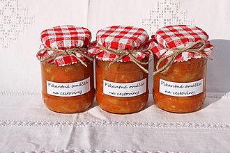Potraviny - Jemne pikantná domáca zeleninová omáčka  (310g) - 13521838_