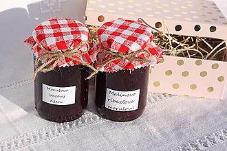 Potraviny - Darčekové balenie dvoch domácich džemov bez konzervantov - 13521944_