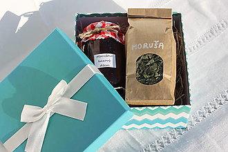 Potraviny - Morušový darčekový balíček - džem a čaj - 13521953_