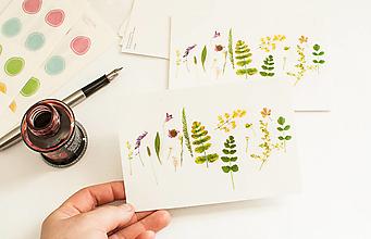"Papier - Pohľadnica ""Nature composition"" - 13522804_"