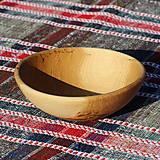 Nádoby - miska z dubového dreva - 13523454_