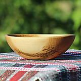 Nádoby - miska z dubového dreva - 13523455_
