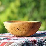Nádoby - miska z dubového dreva - 13523463_