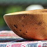 Nádoby - miska z dubového dreva - 13523464_